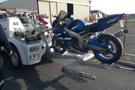 Remorquage moto / scooter